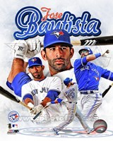 Jose Bautista 2012 Portrait Plus Fine-Art Print