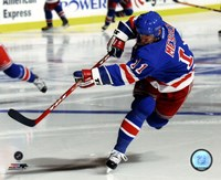 Mark Messier Action Fine-Art Print
