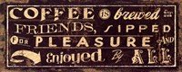 Coffee Quote IV Fine-Art Print