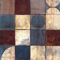 Tango Detail II - Blue Brown Fine-Art Print