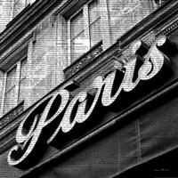 Newsprint Paris Fine-Art Print