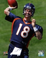 Peyton Manning 2012 Mini Camp Action Fine-Art Print