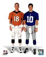 Peyton Manning & Eli Manning 2012 Posed Fine-Art Print