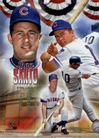 Ron Santo 2012 MLB Hall of Fame Legends Composite Fine-Art Print