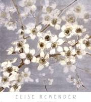 Silver Blossoms II Fine-Art Print