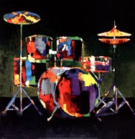 Drum Set Fine-Art Print