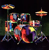 Drum Set - ovsz Fine-Art Print