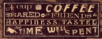 Coffee Quote III Fine-Art Print