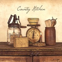 Country Kitchen - square Fine-Art Print