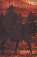 Sunset Rider Fine-Art Print