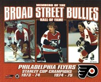 Broad Street Bullies- Bernie Parent, Bobby Clarke, & Bill Barber Fine-Art Print