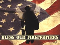 Bless Our Firefighters Fine-Art Print