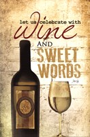 Wine and Sweet Words Fine-Art Print