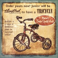 Tricycle Fine-Art Print