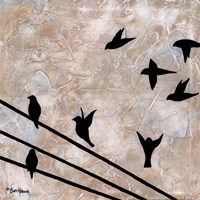 Birds On A Wire II Fine-Art Print