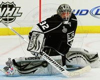 Jonathan Quick Game 3 of the 2012 Stanley Cup Finals Action Fine-Art Print