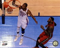 Kevin Durant Game 1 of the 2012 NBA Finals Action Fine-Art Print