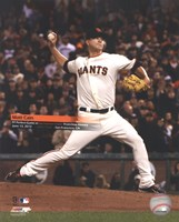 Matt Cain throws a Perfect Game AT&T Park June 13, 2012 with Overlay Fine-Art Print