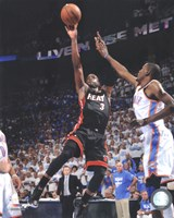 Dwyane Wade Game 2 of the 2012 NBA Finals Action Fine-Art Print