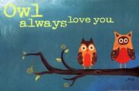 Owl Always Love You (detail) Fine-Art Print