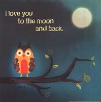 To The Moon I Fine-Art Print