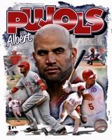 Albert Pujols 2012 Portrait Plus Fine-Art Print