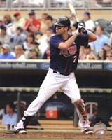 Joe Mauer 2012 batting Fine-Art Print