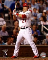 Mike Trout 2012 MLB All-Star Game Action Fine-Art Print