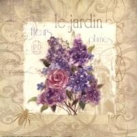 Le Jardin Fine-Art Print