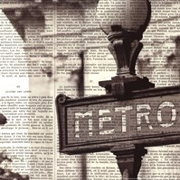 Metro I Crop Fine-Art Print