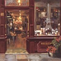 Parisian Shoppe II Fine-Art Print