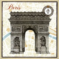 Monuments des Paris Arc Fine-Art Print