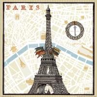 Monuments des Paris Eiffel Fine-Art Print