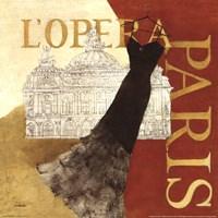 Paris Dress - L' Opera Fine-Art Print