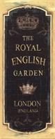Garden View IX - Royal English Fine-Art Print