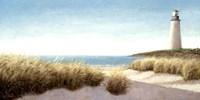 Lighthouse by the Sea Fine-Art Print