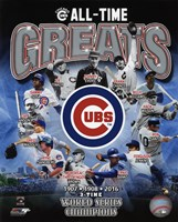 Chicago Cubs All Time Greats Composite Fine-Art Print
