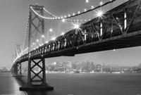 Bay Bridge At Night Fine-Art Print