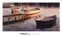 Barques al Port Fine-Art Print