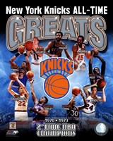 New York Knicks - All-Time Greats Composite Fine-Art Print