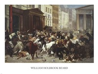 Wall Street: Bulls & Bears Fine-Art Print