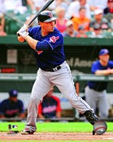 Asdrubal Cabrera 2012 Action Fine-Art Print