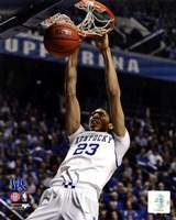 Anthony Davis University of Kentucky Wildcats 2011 Action Fine-Art Print