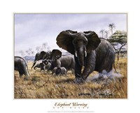 Elephant Warning Fine-Art Print