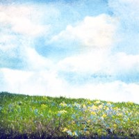 Bright Field I Fine-Art Print