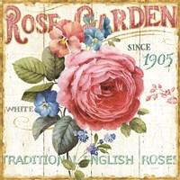 Rose Garden I Fine-Art Print