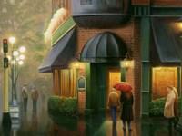 Rainy Day Pub Fine-Art Print