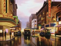 Old City Lights Fine-Art Print