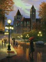 Rainy Twilight Fine-Art Print