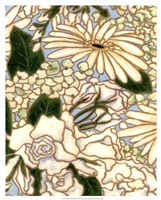 White Flower Spray II Fine-Art Print